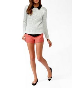 Essential Waffle Knit Sweater | FOREVER 21 - 2027704589