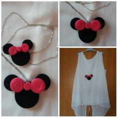 coliere minnie mouse