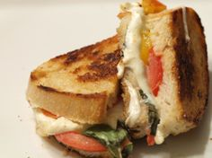 Caprese Grilled Cheese recipe from grilledshane.com