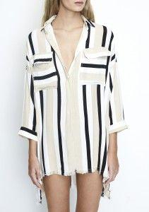 9916921b80ca Baia Shirt Dress Retro Stripe. Faithfull The Brand