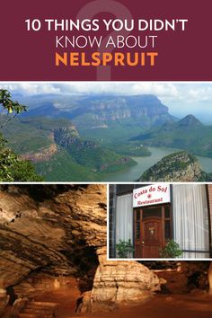 There's a lot more to Nelspruit than you think! Stuff To Do, Things To Do, South Africa, Costa, Thinking Of You, Places To Go, Mountains, Travel, Things To Make