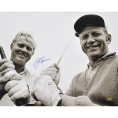 """Jack Nicklaus Fanatics Authentic Autographed 16"""" x 20"""" with Mickey Mantle Photograph"""