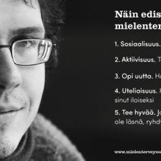 Harjoitukset   Suomen Mielenterveysseura