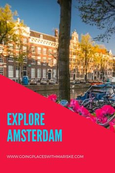 Explore Amsterdam with Trafalgar With the buzz of a big city and charm of a little village, let Amsterdam's tree-lined canals captivate you. Best Travel Sites, Travel Advice, Travel Tips, Amsterdam Holidays, Passport Travel, Amsterdam Travel, Travel Essentials, Vacation Trips, Italy Travel