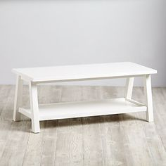 Woodstock Bench (White)