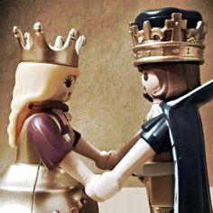 Se aman #playmobil#love#serie#7#rey#reyna#photo#vintage#