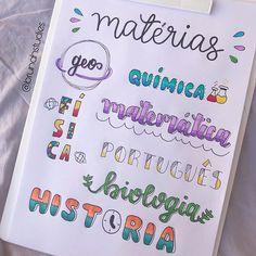 Bullet Journal Titles, Bullet Journal Banner, Journal Fonts, Bullet Journal Aesthetic, Bullet Journal Notebook, Bullet Journal School, Lettering Brush, Bellet Journal, School Notebooks