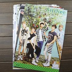 Kpop SHINEE  8 piece sets posters