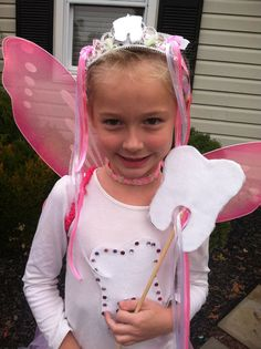 DIY Halloween Costumes. Hereu0027s an easy No Sew Tooth Fairy Costume tutorial with many purchased items and no sewing. | costumes and the like | Pinterest ...  sc 1 st  Pinterest & DIY Halloween Costumes. Hereu0027s an easy No Sew Tooth Fairy Costume ...
