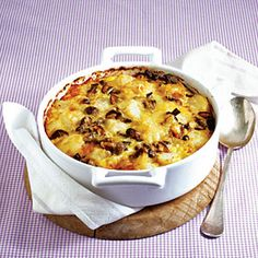 Potato-Mushroom Gratin | MyRecipes.com