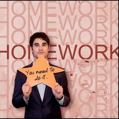BLAINE from glee.....makes this picture amazing just by being in it