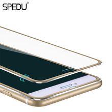 Cobertura completa tela de vidro temperado para iphone 6 6 s 4.7 protetor de tela para iphone 6 plus 5.5 película protetora alishoppbrasil