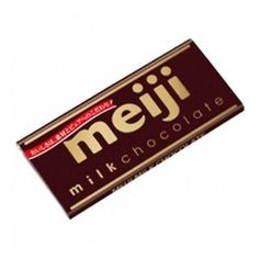 Meiji brand chocolate is a famous and long time favourite in Japan. The Milk chocolate version has a creamy and rich flavor, truly delicious for any chocoholics! This bar is foil wrapped to stay fresh. Japanese Sweets, Japanese Food, Japanese Potato, Chocolate Brands, Potato Chips, Food Porn, Milk, Pretzels, Product Design