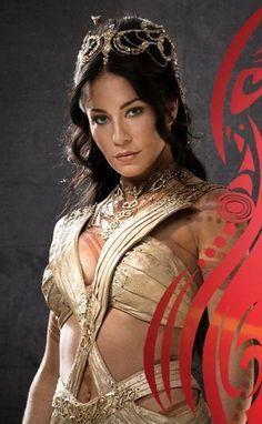 My god was Lynn Collins pretty as Princess Dejah Thoris.