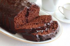 Chocolate Deception Cake Recipe - Zucchini cake made with healthier ingredients!