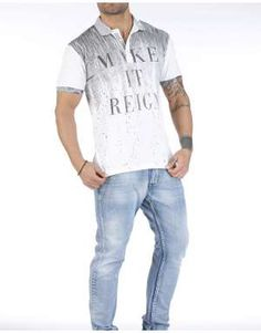 ΑΝΔΡΙΚΑ ΡΟΥΧΑ :: ΜΠΛΟΥΖΑΚΙΑ :: Πόλο How To Make, T Shirt, Supreme T Shirt, Tee Shirt, Tee