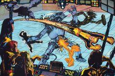 New Mutants by Juanjo Guarnido