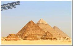 As Pirâmides de Giza - Egito