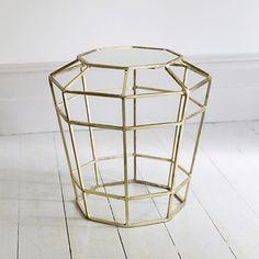 Barbican Mirror Top Side Table £119