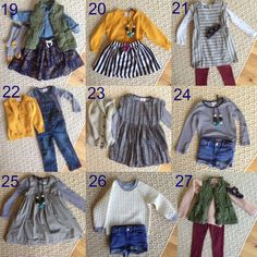 Toddler girl wardrobe// Back-To-School Closet Clean Out With Hanna Andersson / via The Little Things We Do Girls Fall Fashion, Little Boy Fashion, Baby Girl Fashion, Toddler Fashion, Outfits Otoño, Girls Fall Outfits, Little Girl Outfits, Toddler Girl Style, Toddler Girl Outfits
