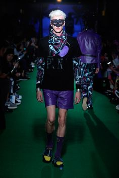 Bajowoo presented his Spring/Summer 2015 collection for 99%IS-, during Mercedes-Benz Fashion Week Tokyo.