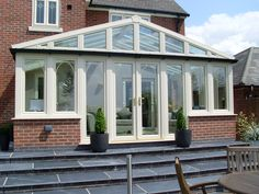 Stunning UPVC conservatory manufactured & fitted by Glazedale Nottingham