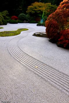 Portland Japanese Garden, Portland, OR One of many beautiful things to see in portland