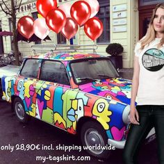 http://www.my-tagshirt.de/East-Side-Gallery_1 #Fairtrade meets #streetwear  #handmade in #Berlin  each piece is unique  100% #organic #cotton  100% #ecological  100% #fairtrade  shipping all over the world #fashion #stylish #shopping #design #dress #styles #purse #swag #topshop #musthave #swagger #outfitoftheday #streetwear #denim #berlinwall #berlinermauer #eastsidegallery #liketkit #likeforlike #like4like