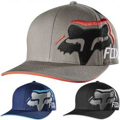 Fox Racing Mens Input Flexfit Casual Fitted Cap MX Motocross Moto Hat