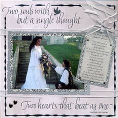 wedding scrapbook ideas | Wedding Scrapbook Pages - Lord Lars and Lady Nilah by Nilah Shea ...