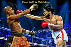 OK - Duran vs Mayweather? Whose hand is raised after the last bell? The match-up - the 29 year old Duran of the first Sugar ray fight of 1980 vs the 30 year old Mayweather of the 2007 Ricky Hatton fight. Thanks again to Fletch Lewis for the great artwork. www.boxinghalloffame.com facebook - boxing hall of fame las vegas