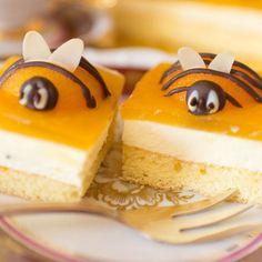 Easter cake, Easter cake, Easter dessert, bee cake, apricot cake - Dessert and Cake - Kuchen Apricot Cake, Peach Cake, Whole Food Recipes, Cake Recipes, Dessert Oreo, Bee Cakes, Sour Cream Cake, Pudding Desserts, Pudding Cake
