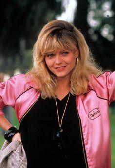"""Michelle Pfeiffer en """"Grease 2″, 1982"""