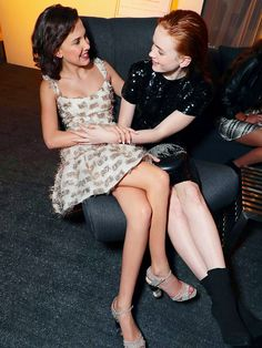 """Millie Bobby Brown and Sadie Sink at the Entertainment Weekly's Screen Actors Guild Award Nominees Celebration on January 20, 2018 in Los Angeles, California. """