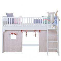 Łóżko na niskiej antresoli Oliver Furniture