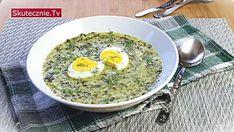 Zaskakująco pyszna zupa jarmużowa (jak szczawiowa) Vegan Soups, Healthy Soups, Healthy Dinners, Ramen, Food And Drink, Pasta, Diet, Cooking, Breakfast