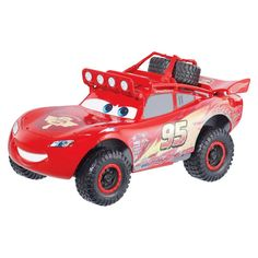 Disney/Pixar Cars RS500 1/2 Off-Road Lightning McQueen and Dvd