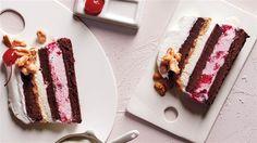 Martha Stewart's Brownie Sundae Ice Cream Cake