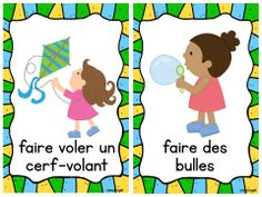 Les activités du printemps: Mini Spring Activity Posters in French French Teaching Resources, Teaching French, How To Speak French, Learn French, Spring Activities, Teaching Activities, Teaching Ideas, French Worksheets, Education And Literacy