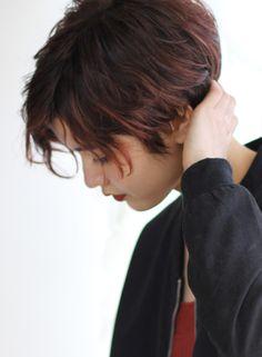 2ブロックショート(髪型ショートヘア)