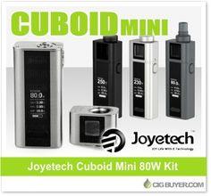 Joyetech Cuboid Mini 80W Kit – $47.49: http://www.cigbuyer.com/joyetech-cuboid-mini-kit/ #ecigs #vaping #joyetech #cuboidmini #cuboidmod #vapelife #vapedeals