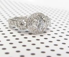 Diamond Ring with a total diamond carat weight of 2.83 ctw