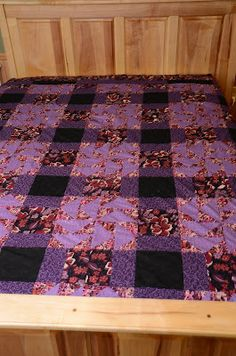 Just finished this NEW Queen Size Quilt Top!