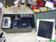Battery charger and mini generator