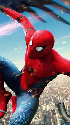 Top Spiderman Wallpapers - Homecoming, Into the Spider-Verse - Update Freak Avengers Humor, Avengers Quotes, Avengers Imagines, Avengers Art, Amazing Spiderman, Parker Spiderman, Spiderman Movie, Spiderman Spider, Comics Anime