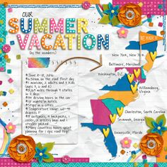Layout: Vacation by the Numbers