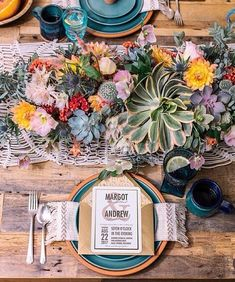 Succulent tabletop perfection from @100_layercake @JustinaBlakeney @WeddingPaperDivas botanical #bohemian perfection. : @desibaytan | Styling: @danaerolynhorst | Florals: @lacuad | Props: @borrowedblu and @iamjesstaylor #repost #inspiration #wedding