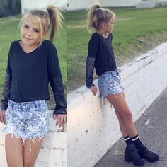 Cute girl outfits, little girl outfits, outfits niños, little girl fa Teenage Girl Outfits, Little Girl Outfits, Cute Girl Outfits, Tween Girls, Little Girl Fashion, Outfits For Teens, Cute Girls, Tween Fashion, Fashion 101