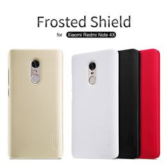 "for Xiaomi Redmi Note 4X Nillkin Super Frosted Shield Hard Back Cover Case for Redmi Note 4X 5.5"" Phone Case +Screen Protector"