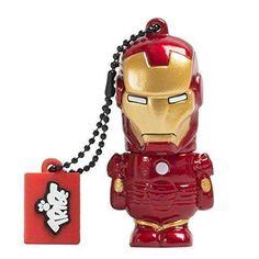 Oferta: 7.99€ Dto: -21%. Comprar Ofertas de Tribe Disney Marvel Avengers Iron Man - Memoria USB 2.0 de 8 GB Pendrive Flash Drive de goma con llavero, color rojo barato. ¡Mira las ofertas!